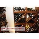 Kookatelier Joop Zwiep maakt gebruik van wijnrekken Kabinett. Hier kunt u met een groep gezellig koken of een kookcursus volgen.
