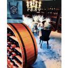Wijnrek Merlot in winkel La Bottega del Vino
