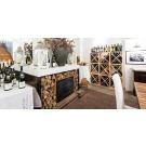 Stijlvolle inrichting met wijnrekken Kabinett