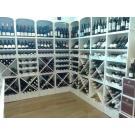 Wijnrekken Kabinett lenen zich voor een goede presentatie van uw wijnen.