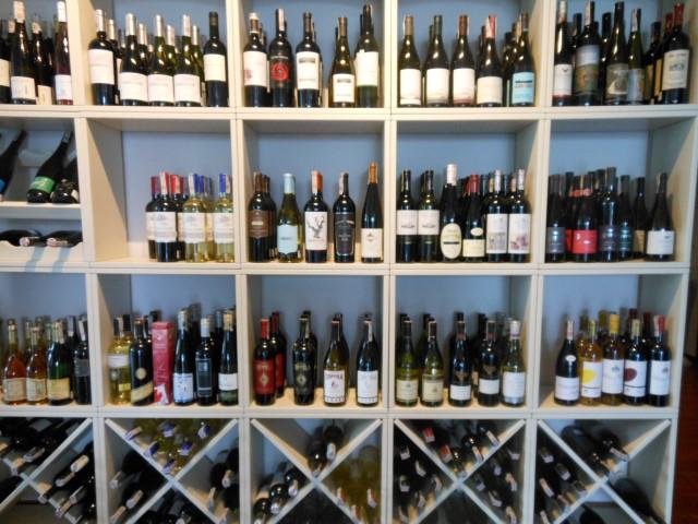 Presentatie en opslag van de wijnen