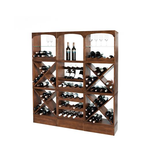 Wijnrek Kabinett: een flexibel wijnopslag systeem met uitstraling