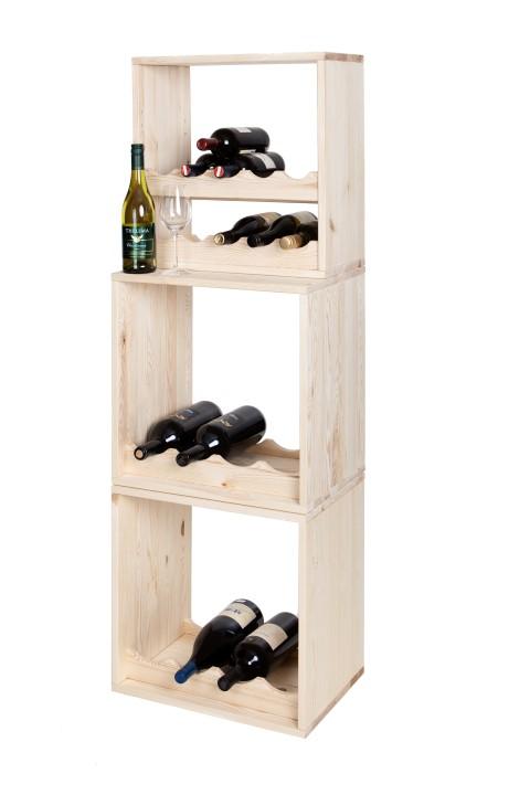 Wijnwand Kabinett: wijnrekken voor magnum-flessen